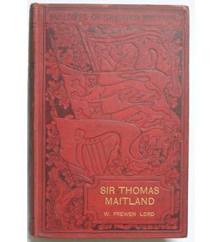 Sir Thomas Maitland