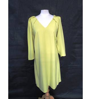 V Neck - Long Sleeve - M&S Marks & Spencer - Size: 16 - Yellow