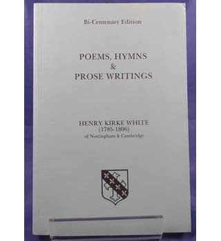 Poems, hymns and prose writings