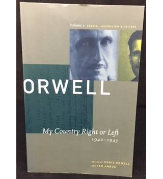 ORWELL My country Right or Left