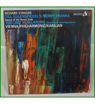 Richard Strauss, Vienna Philharmonic/ Karajan ‎– Till Eulenspiegel's Merry Pranks / Dance Of The Seven Veils - SDD 211