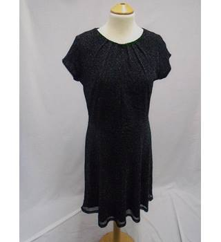 Billie & Blossom - Size 12 - Black Sparkly Party Dress