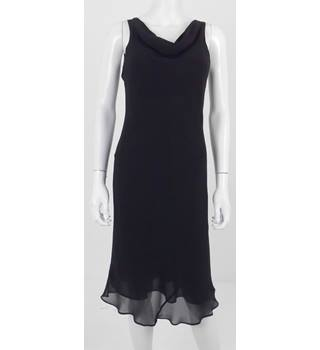 Laura Ashley Classic Little Black Dress Size 12
