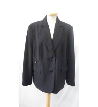 Busy Size 20 Smart Black Jacket