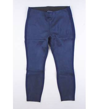 Lands' End size L Navy Stretch Leggings