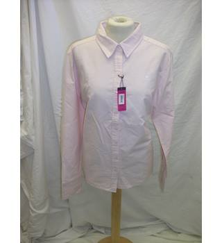 Kangol Shirt - Size: 12 - Pink - Long sleeved shirt