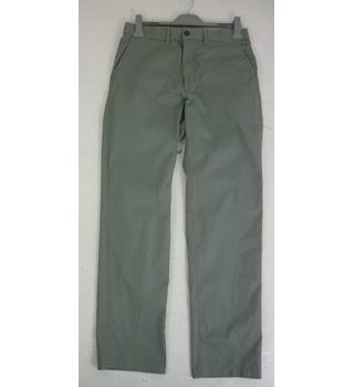 "M & S  Size:XL, 40"" W, 35"" L, regular fit Light Grey Casual Cotton Straight Leg Super Lightweight Chinos With Active Waist"
