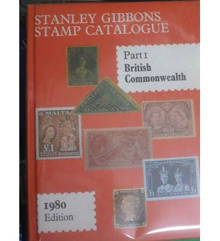 Stanley Gibbon stamp catalogue. Part One British Commonwealth 1980