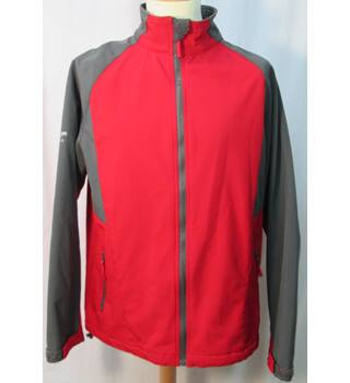 Cotton Traders - Red/grey - Fleece Lined jacket