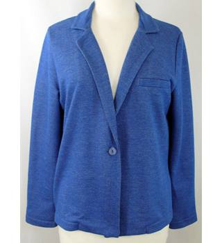 "Hush - Size: M/L (40"" chest) - Mid Blue and White Flecked - Ladies' Casual Jacket"