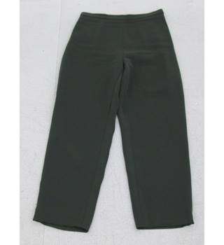 Phase Eight: Size 12:  Bottle green smart trousers