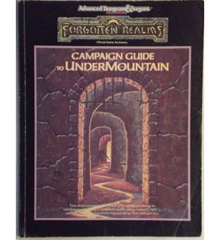Forgotten Realms: Campaign Guide to Undermountain