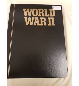 World War II Magazines binded in black case issues 37 - 48