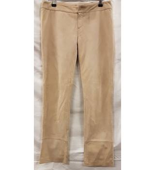 Marni Leather Trousers Marni - Size: M - Beige