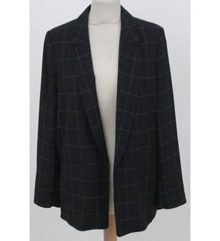 NWOT M&S Collection Size: 14 -  Navy checked jacket