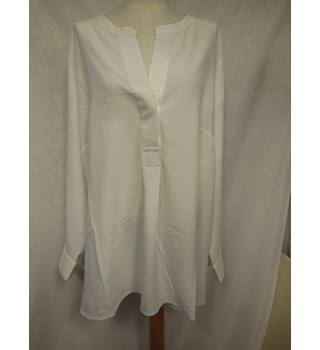 M&S collection blouse ladies M&S Marks & Spencer - Size: 28 - Cream / ivory - Blouse