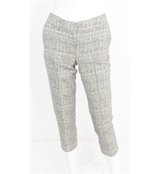 Boden - Size 6P - Grey with blue speckles trousers