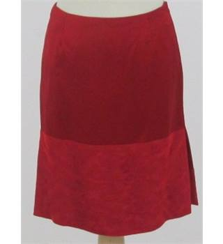 Bay's Edit Versace Jeans Couture - size 10 - red skirt