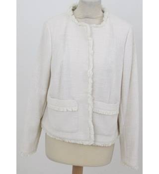 NWOT M&S Collection Size: 16 - Cream lightweight jacket