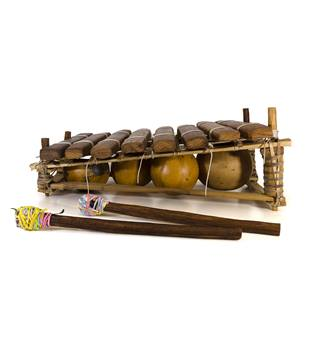 MUSICAL INSTRUMENT - BARAFON - HANDMADE - PERCUSSION - FROM THE GAMBIA