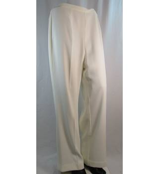 Kaleidoscope - Size: 12 - Cream - Trousers