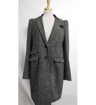 Warehouse Coat Size 16 Warehouse - Size: 16 - Grey - Smart jacket / coat