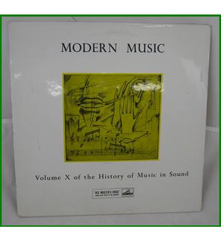 Modern Music - Volume X of the Historry of Music in Sound - HLP 27