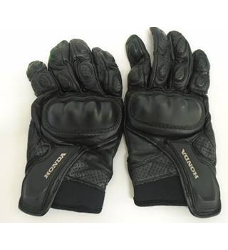 Honda - Size: S - Black - Motorcycle gloves