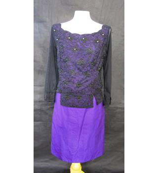Two piece - Skirt and top - Unbranded - Size: S - Purple