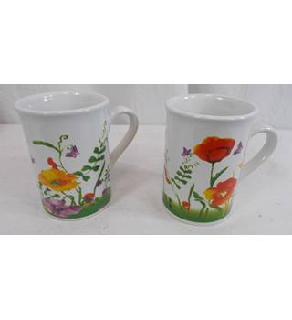 Poppy Mug Set of 2