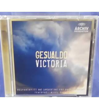 Gesualdo / Victoria - Responsories And Lamentations For Holy Saturday Nigel Short