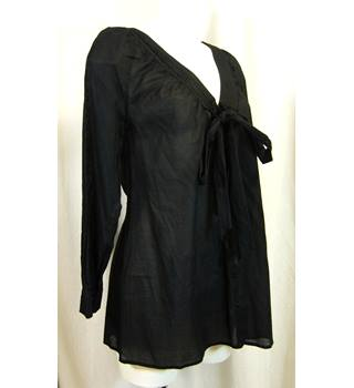 Warehouse - Size: 6 - Black - Long sleeved shirt