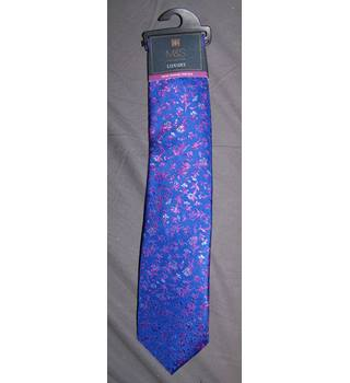 BNWOT M&S Marks & Spencer - Size: One size - Purple - Tie