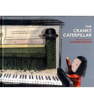 The Cranky Caterpillar - with SIGNED limited Print, Sticker and Card