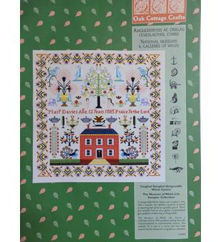 Mary Davies House Sampler - counted cross stitch