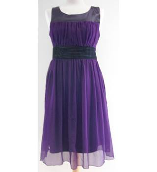 Fashion bpc - Size: 12 - Purple - Knee length dress