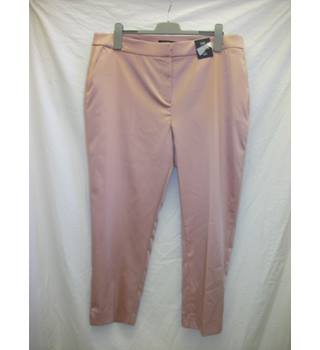 "NEW M&S Ladies Trousers- Size: 22"" - Pink - Trousers"