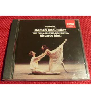 Prokofiev Romeo and Juliet suite from the ballet, Muti & Philadelphia Orchestra EMI CD  7 47004 2 digital recording 1981