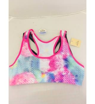 BNWT Girls Sports Bra x2 M&S Marks & Spencer - Size: 12 - 13 Years - Multi-coloured