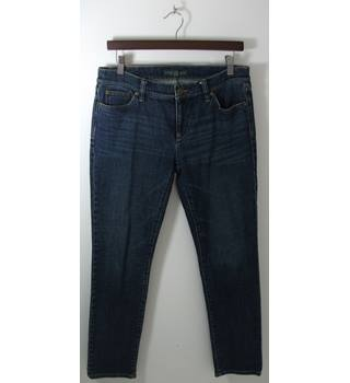 Lauren Ralph Lauren Blue Stretch Denim Straight Leg Jeans Size 6