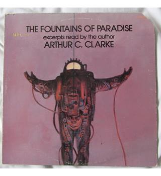 The Fountains of Paradise (1979) US Release - Read by Arthur C. Clarke Arthur C. Clarke - TC1606