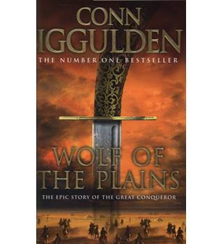 Wolf of The Plains - Conn Iggulden -Signed 1st Edition