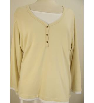 C&A - Size: XL - Ivory/white - Long Sleeved Top