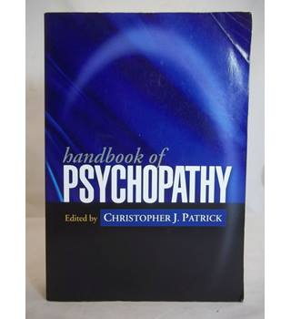 Handbook of psychopathy
