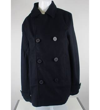 Pierre Cardin Women's Navy Blue Fabric Jacket Size M Pierre Cardin - Size: M - Blue - Jacket