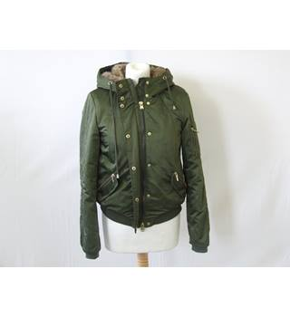 Zara Women's Bomber Jacket Zara - Size: XS - Green - Jacket