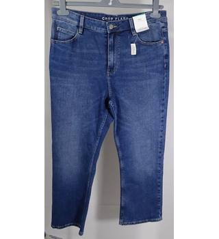 Marks and Spencer collection jeans, size 14, medium indigo