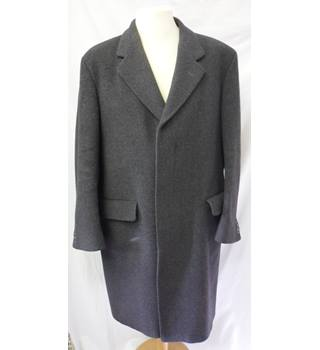 "Centaur Gold Collection - Size: 42"" - Gunmetal Grey - Pure New Wool Crombie Style Overcoat"