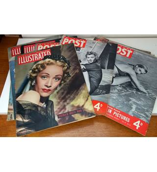 11 Picture Post/Illustrated Magazines. 1950