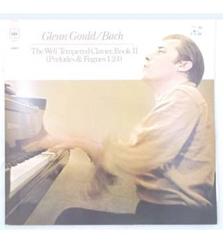 Glenn Gould - Bach/ The Well Tempered Clavier, Book II (Preludes & Fugues 1-24) (1973) Glenn Gould/ Bach - CBS 78277